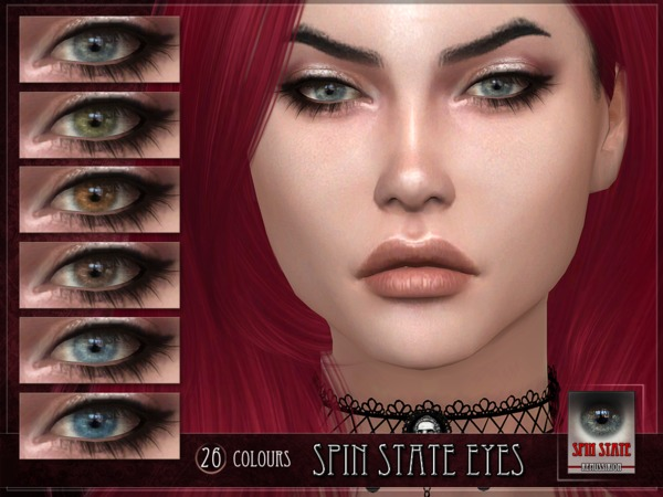 Sims 4 Spin State Eyes by RemusSirion at TSR