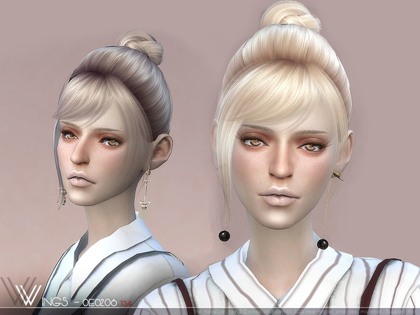 Hair OE0206 by wingssims at TSR image 344 Sims 4 Updates