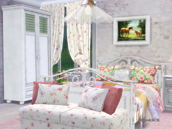 Bedroom Country by ShinoKCR at TSR image 345 Sims 4 Updates