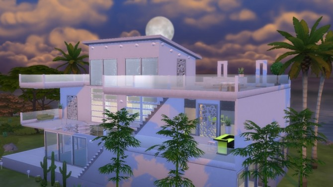 Modern House Mila (no CC) at Tatyana Name image 347 670x377 Sims 4 Updates
