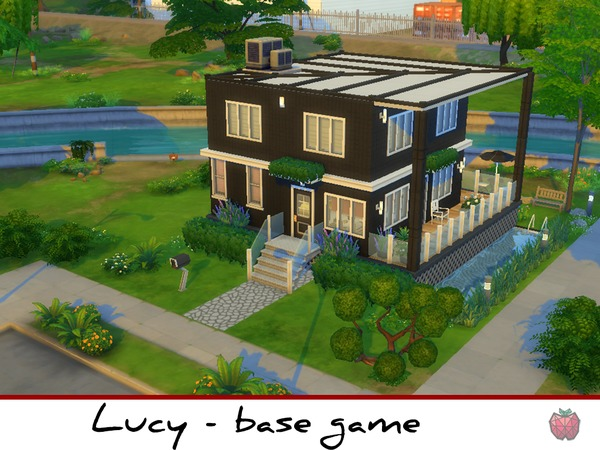 Sims 4 Lucy base game starter by melapples at TSR