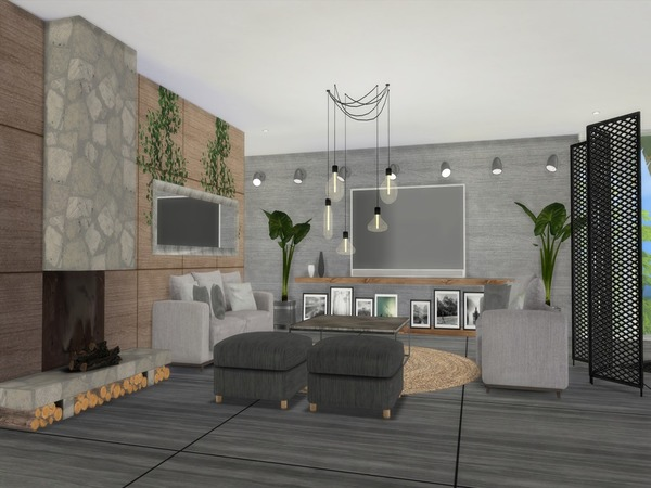 Sims 4 Cadenza modern home by Suzz86 at TSR