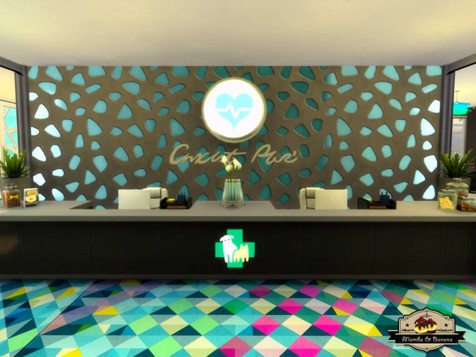 Bananas Vet Clinic (No CC) by mamba black at Mod The Sims image 3516 670x503 Sims 4 Updates
