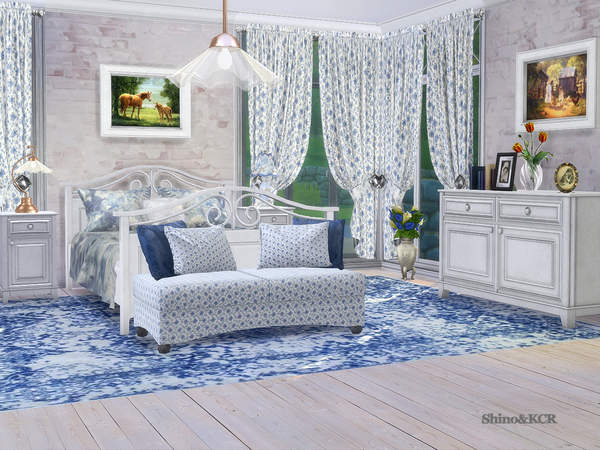 Bedroom Country by ShinoKCR at TSR image 355 Sims 4 Updates