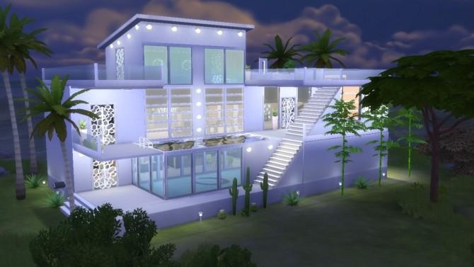 Modern House Mila (no CC) at Tatyana Name image 357 670x377 Sims 4 Updates