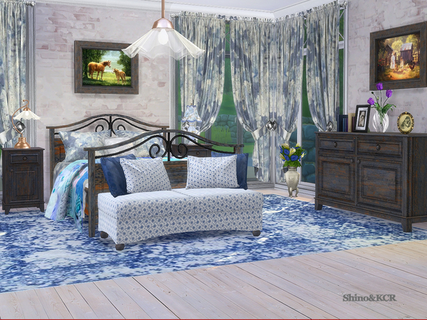 Bedroom Country by ShinoKCR at TSR image 365 Sims 4 Updates