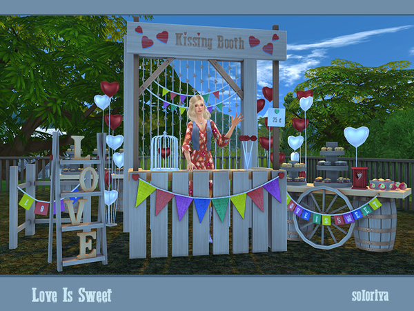 Love Is Sweet set by soloriya at TSR image 37 Sims 4 Updates