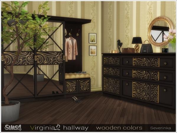 Sims 4 Virginia II hallway by Severinka at TSR