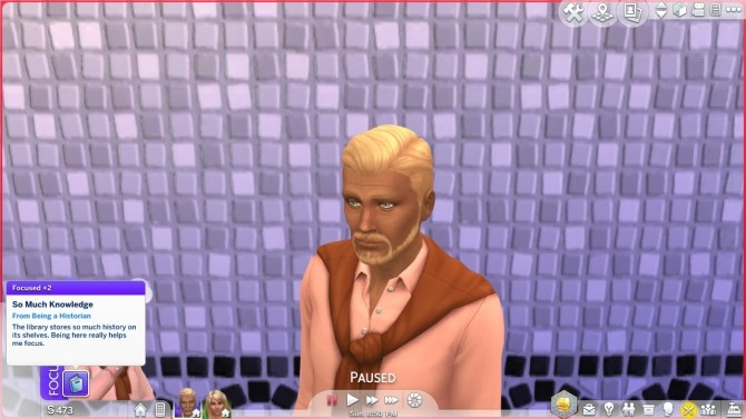 Sims 4 Historian Trait by fabulousfabulous at Mod The Sims