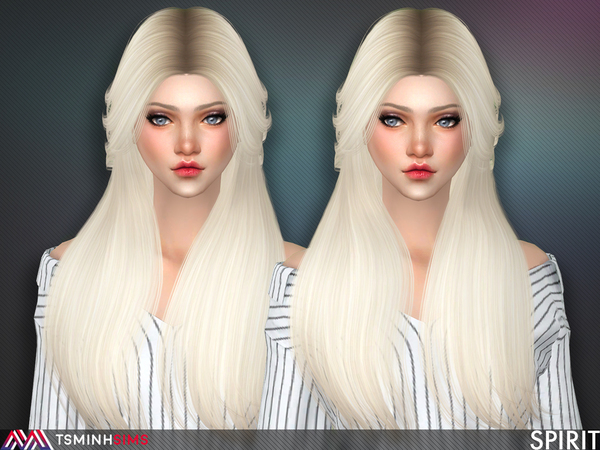 Spirit Hair 55 by TsminhSims at TSR image 378 Sims 4 Updates