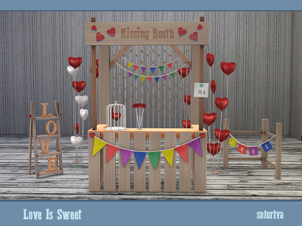 Love Is Sweet set by soloriya at TSR image 38 Sims 4 Updates
