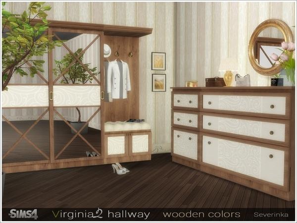 Virginia II hallway by Severinka at TSR image 3810 Sims 4 Updates