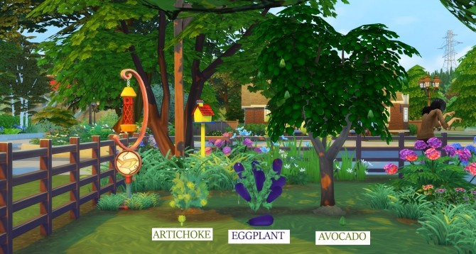 Harvestable Artichoke, Aubergine and Avocado by icemunmun at Mod The Sims image 3912 670x358 Sims 4 Updates