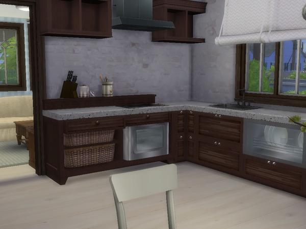 Sims 4 The Peony house by dorienski at TSR