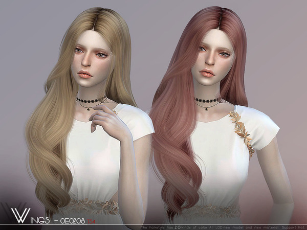 Hair OE0208 by wingssims at TSR image 394 Sims 4 Updates