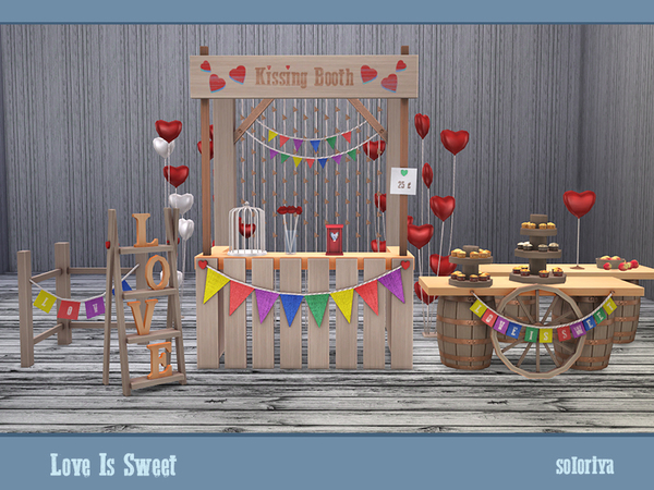 Love Is Sweet set by soloriya at TSR image 40 Sims 4 Updates