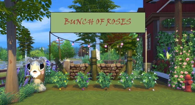 Harvestable Roses of Different Colours by icemunmun at Mod The Sims image 409 670x361 Sims 4 Updates
