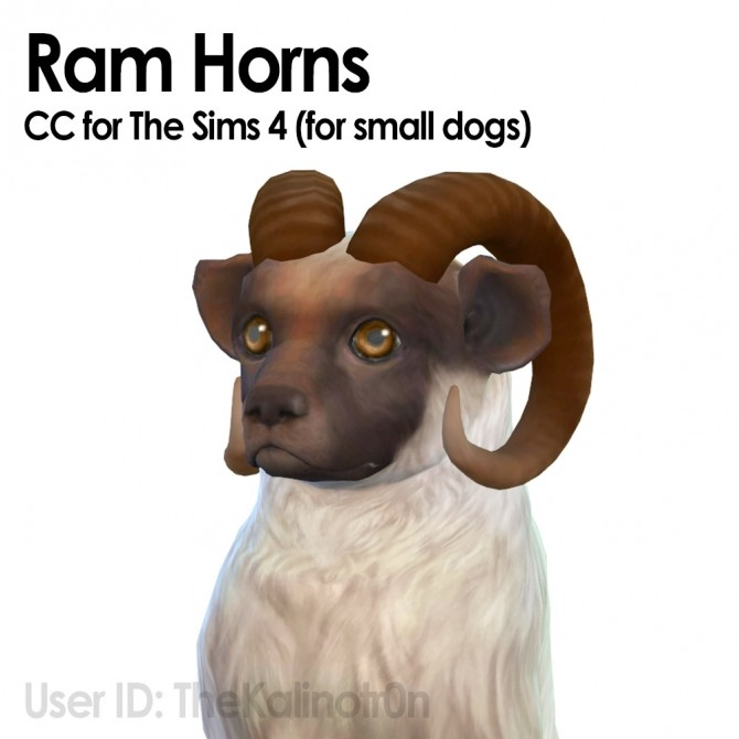 Horns Small Dogs At Kalino 187 Sims 4 Updates