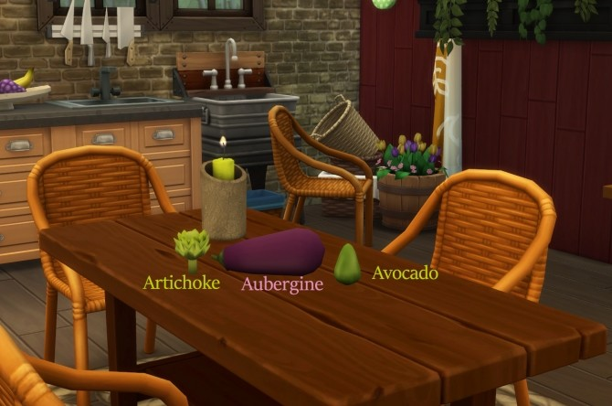 Harvestable Artichoke, Aubergine and Avocado by icemunmun at Mod The Sims image 4117 670x444 Sims 4 Updates