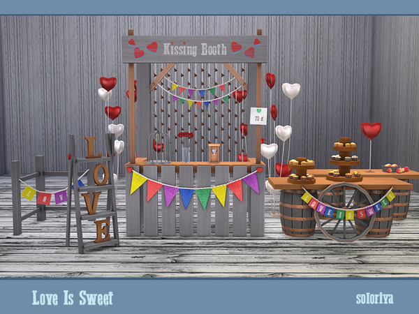 Love Is Sweet set by soloriya at TSR image 42 Sims 4 Updates