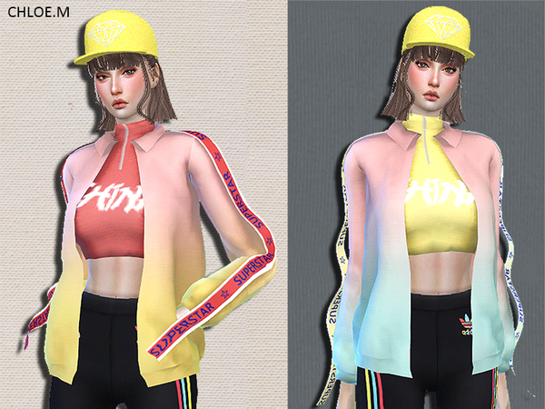 Trendy Jacket by ChloeMMM at TSR image 420 Sims 4 Updates