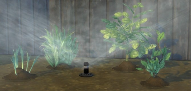 Set It and Forget It Functional Garden Sprinkler by BrazenLotus at Mod The Sims image 425 670x318 Sims 4 Updates