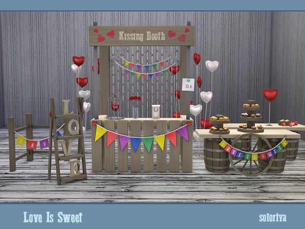 Love Is Sweet set by soloriya at TSR image 43 Sims 4 Updates