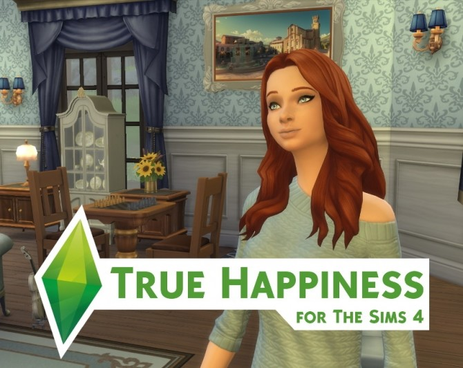 Sims 4 True Happiness by roBurky at Mod The Sims