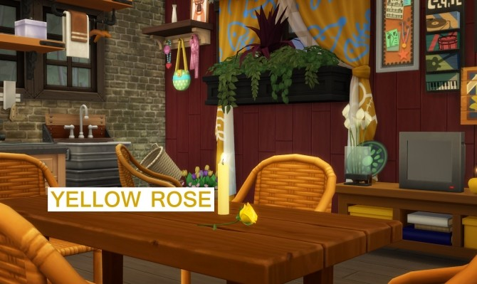 Sims 4 Harvestable Roses of Different Colours by icemunmun at Mod The Sims