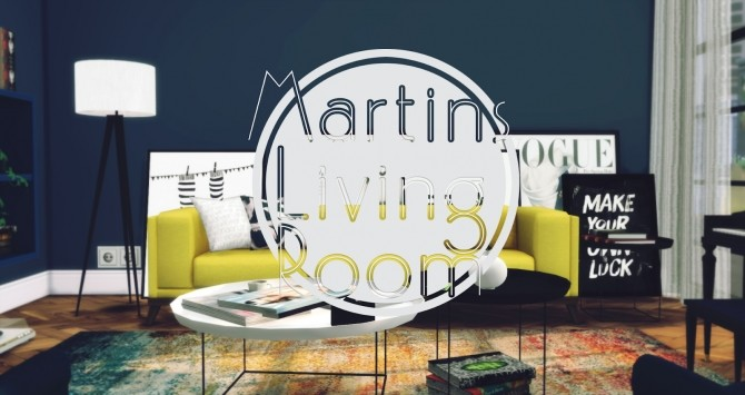 Martins Living Room at Pyszny Design image 4414 670x355 Sims 4 Updates