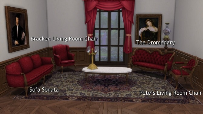 Living Chairs, Sofa & Loveseat from TS3 by TheJim07 at Mod The Sims image 4510 670x377 Sims 4 Updates
