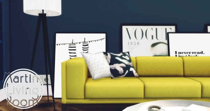 Martins Living Room at Pyszny Design image 4513 670x355 Sims 4 Updates