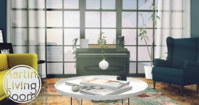 Martins Living Room at Pyszny Design image 4614 670x355 Sims 4 Updates