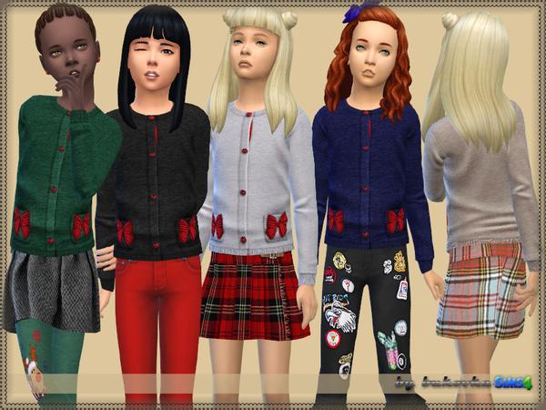 Sims 4 Sweater Bow by bukovka at TSR