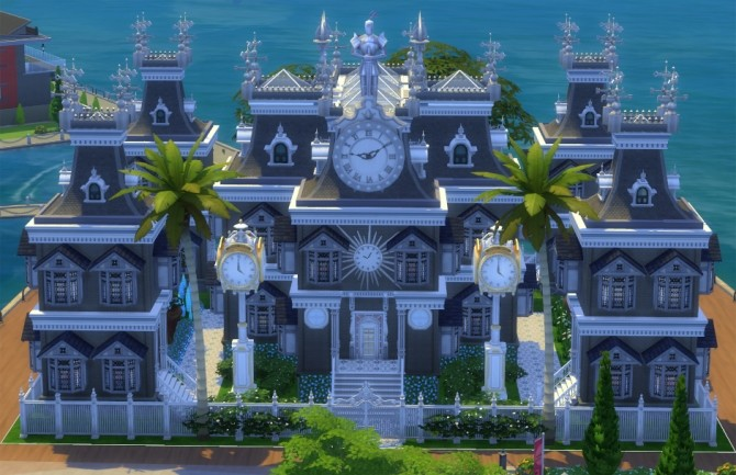 Chaos Positive Mansion by olc at Mod The Sims image 473 670x433 Sims 4 Updates