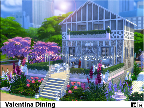 Valentina Dining by Pinkfizzzzz at TSR image 478 Sims 4 Updates