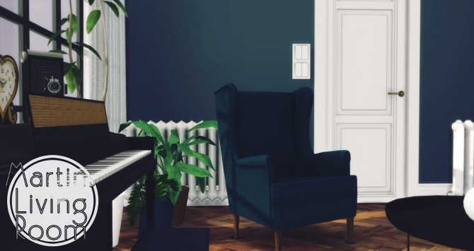 Martins Living Room at Pyszny Design image 4814 670x355 Sims 4 Updates