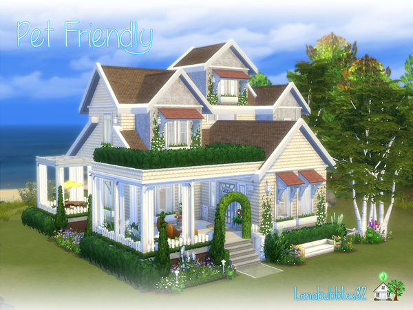 Pet Friendly house by lenabubbles82 at TSR image 4817 Sims 4 Updates