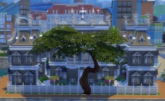 Chaos Positive Mansion by olc at Mod The Sims image 483 670x411 Sims 4 Updates