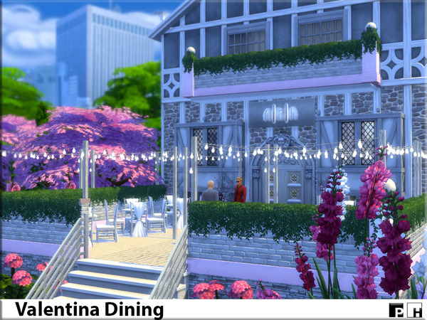 Valentina Dining by Pinkfizzzzz at TSR image 488 Sims 4 Updates