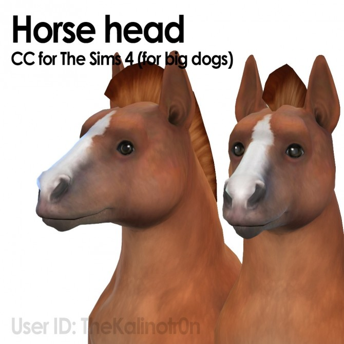 Horse heads (big dogs) at Kalino image 496 670x670 Sims 4 Updates