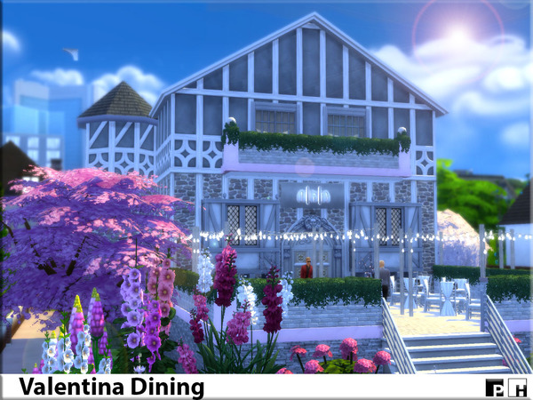 Valentina Dining by Pinkfizzzzz at TSR image 498 Sims 4 Updates
