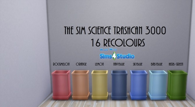 Sciences Trashcan 3000 16 Recolours by wendy35pearly at Mod The Sims image 5010 670x369 Sims 4 Updates