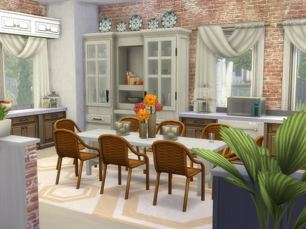 Sims 4 Pet Friendly house by lenabubbles82 at TSR