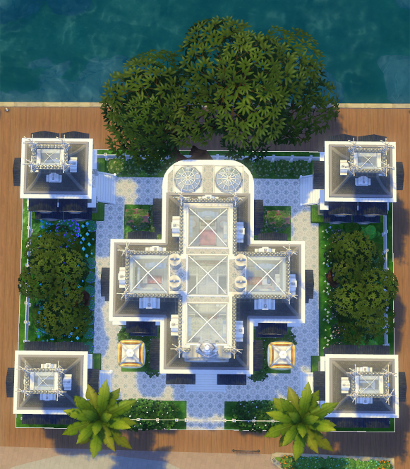 Chaos Positive Mansion by olc at Mod The Sims image 503 Sims 4 Updates