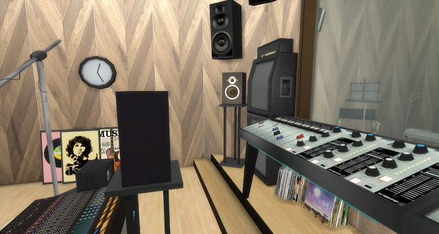 Chance Recording Studio by Rissy Rawr at Pandasht Productions image 507 Sims 4 Updates
