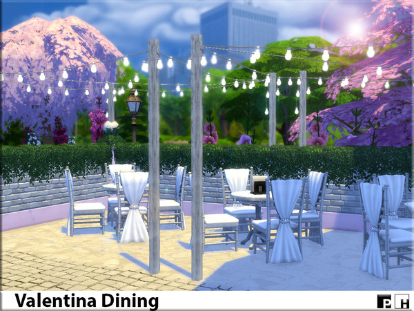 Valentina Dining by Pinkfizzzzz at TSR image 508 Sims 4 Updates