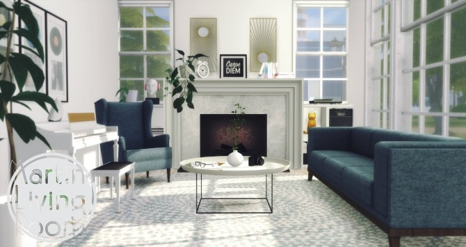 Martins Living Room at Pyszny Design image 5117 670x355 Sims 4 Updates