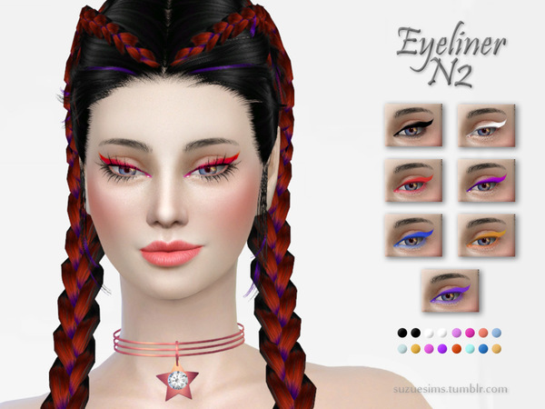 Eyeliner N2 by Suzue at TSR image 52 Sims 4 Updates