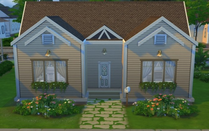 Starter House NoCC 19K by OxanaKSims at Mod The Sims image 5210 670x422 Sims 4 Updates